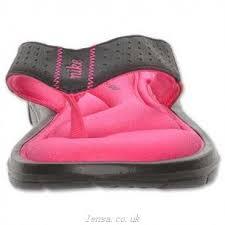 Nike Comfort Thong Canada Nike Comfort Thong Uk Womens Sandals Black White Vivid Pink