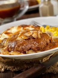 salisbury steak recipe with mushrooms recipe