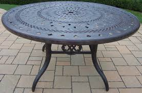 Round 54 Inch Dining Table Patio Dining Sets