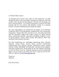 commercial real estate agent cover letter