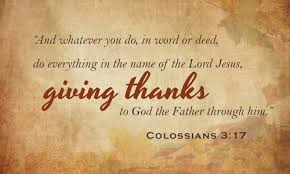 2013 giving thanks the gideons international