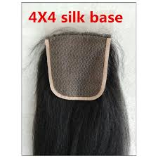 top closure indian remy italian yaki 4x4 silk base top closure bea hairs