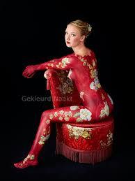 Wallpaper Bodypainting Juni 2012 11 Best Gekleurd Naakt Portfolio Images On