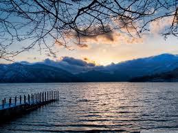 lakes nikko lake japan scenery sky nature full hd for hd 16 9