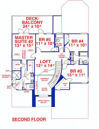 house plans two master suites 5 bedroom 4 bath southern house plan alp 099r allplans