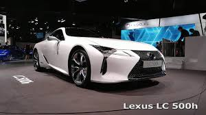 lexus lc 500 h concept lexus lc 500h on paris motor show 2016 youtube