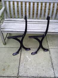 cast iron bench endsmeltham west yorkshiregumtree a pair of