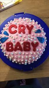cry baby melanie martinez cake by sweet doughmestics sweet