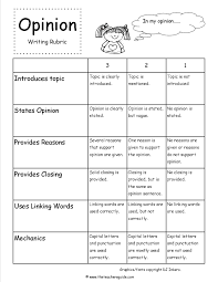 2nd grade printable writing paper opinion writing prompts rubric writing opinion pinterest opinion writing prompts rubric