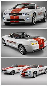 evolution of the chevy camaro one of a 2011camaro indy pace car convertible