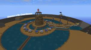Hunger Games Minecraft Map Hunger Games Districts Map Maps Florida