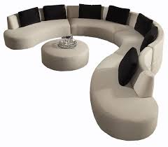 Curve Sofa Lazar Gemini Collection Armless Reversed Curve Sofa With Bumper