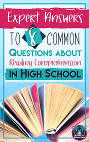 Sustained Silent Reading Worksheet How To Address Gaps In Reading Comprehension In High The