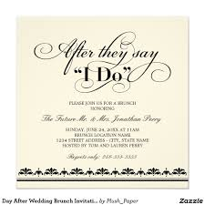 morning after wedding brunch invitations day after wedding brunch invitation wedding vows brunch