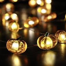 Decorative Indoor String Lights Pumpkin String Indoor String Lights Lights 10 Ft Copper Wire 40