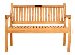 Teak Memorial Benches Charnwood Memorial Benches