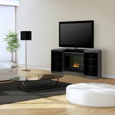 quintus opti myst electric fireplace media console gos40c 1499sc