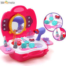 mrpomelo makeup for girls pretend play dress up make up toy kit