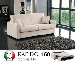canapé lit usage quotidien canapé convertible couchage quotidien rapido beau canape lit 3 4
