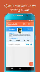 My Resume Builder My Resume Builder U0026 Cv For Free Professional Jobs Android Apps