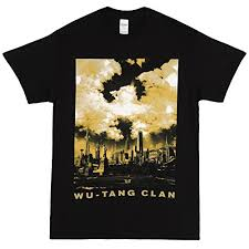 Wu Tang Socks Wu Tang Clan Cloud Symbol Over Nyc T Shirt Black Large The