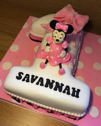 minnie mouse 1st birthday cake minnie mouse 1st birthday cake cake by cakesdecor