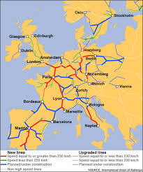 rail europe map map of rail lines in europe thefreebiedepot