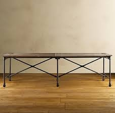 rustic wood u0026 iron table diy picklee