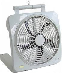battery operated fans battery operated fan with ac and car adapter for hurricane