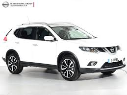 nissan white car used nissan x trail n tec white cars for sale motors co uk