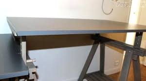 comment faire un bureau fabriquer un bureau avec un plan de travail ou bureau plan travail