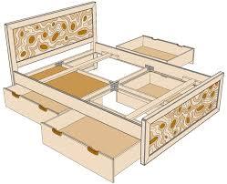 Plan De Table En Bois by Mod Le De Lit En Bois 3 Places U2013 Mzaol Com