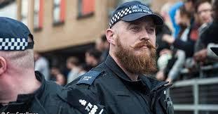 Handlebar Mustache Meme - cop brings justice to beard lovers everywhere