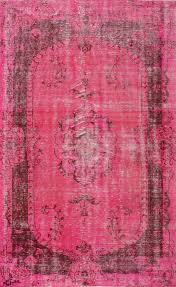 Fuchsia Rug Remodelaholic Best Colors For Your Home Fuchsia