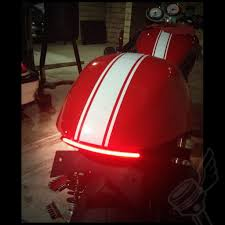 slimline led tail light and fender eliminator kit for triumph