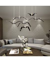 Bird Pendant Light Birds Silhouette Sky Freedom Bird Seagull Pendant L Resin