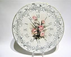 Shabby Chic Wall Clocks by Unusual Wall Clock Etsy