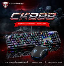 motospeed ck888 nkro mechanical keyboard mouse combo 46 99
