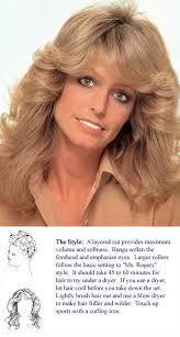 farrah fawcett hair cut instructions the farrah cut the official hairstyle of the 70s the