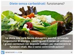 glucidi alimenti senza carboidrati funziona per dimagrire men禮 tipo e rischi