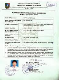 contoh surat izin usaha perdagangan siup april 2015 contoh