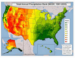 United States Climate Map by Brian B U0027s Climate Blog Dreary Weather