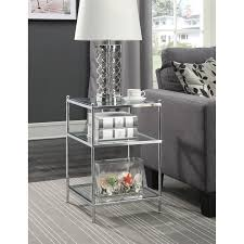 Chrome And Glass Sofa Table Best 25 Glass End Tables Ideas On Pinterest Gold End Table