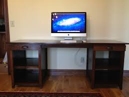 gaming computer desk homemade double computer desk ideas also and images with diy stand