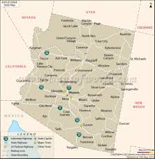 Map Of Arizona Cities by Sun Valley Rv Resort About
