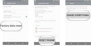 how to factory reset an android phone android central