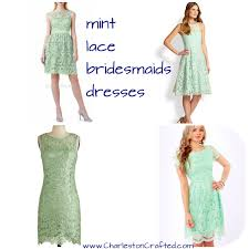 mint lace bridesmaid dresses finding the mint bridesmaids dresses charleston crafted