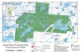 Manitoba Canada Map by Manitoba Wildlands Manitoba Forests Industry