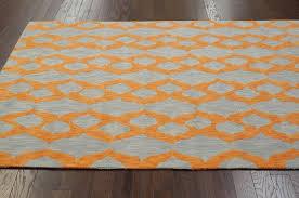Orange And White Rugs Living Room Stylish Orange And Blue Area Rug Roselawnlutheran Rugs