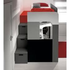 lit mezzanine ado avec bureau et rangement lit mezzanine rangement adulte avec chambre complete pour enfants